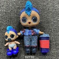 Rare  Doll Sparkle Punk boi Boy /& LIL Punky Confetti Pop Toy