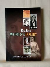 READING WOMEN'S POETRY; Laurence Lerner; SIGNED BY THE AUTHOR; Very Good
