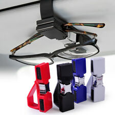 Blue Car SunVisor Sunglasses Eye Glasses Ticket Receipt Card Holder Clip Storage