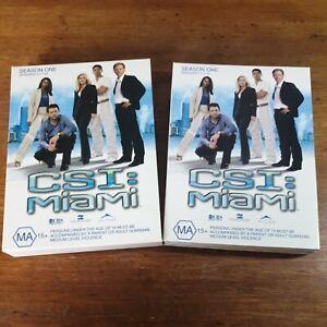 CSI Miami Season 1 DVD R4