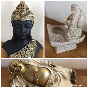3 Buddha Themed Latex Moulds