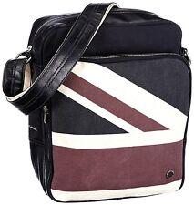 Ben Sherman Shoulder Men's Blue Messenge Bag Union Jack  BRIT FLAG NEW MH00074