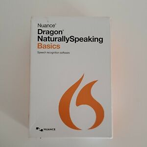Dragon NaturallySpeaking Basics 13 PC Disc Microphone Included New