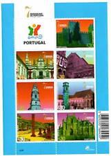 Portugal 2007 BF Les 7 Merveilles du Portugal - 3 feuillets de 7 timbres