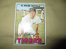 '67 Al Kaline Topps,#30, ungraded,but great cond.see pics .