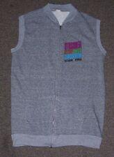 1986 Aerosmith Done with mirrors Working crew sweatshirt vest men's size-Medium