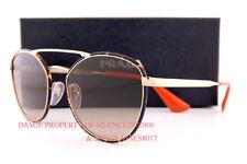 95ac27d08ec Brand New Prada Sunglasses PR 63TS 2AU 3D0 Havana Gold Brown For Women