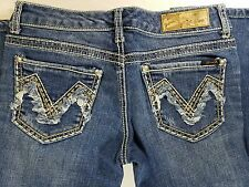 Seven 7 Denim Blue Jeans Womans Bootcut Stretch 28   AA1