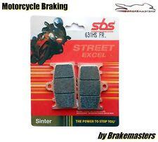Suzuki GSX650 F 2008 SBS 631HS Street Sinter front brake pads FA158