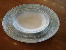 Pontracina Johnson Brothers  2 Oval Platters and Oval Bowl
