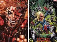 Marvel 2019 Captain Marvel 13 Brooks Main + Cassara Venom Island Var NM+ 12-11