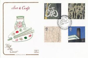 (92938) GB Cotswold FDC Art & Craft Studio Pottery St Ives 2000