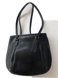 Coach Black Leather Vintage Handbag