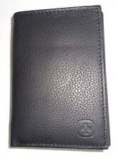 Swiss Army Genuine Leather Trifold Wallet, Black