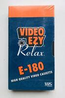 VIDEO EZY E-180 High Quality Video Blank Cassette VHS PAL #buyfromthebush