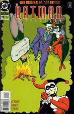 BATMAN ADVENTURES #28  FINE (1992 SERIES) JOKER & HARLEY QUINN