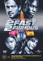 2 Fast 2 Furious (DVD, 2003) region 4 Like New