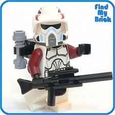 SWtor 254 Lego Star Wars ARF Elite Clone Trooper Minifigure w/ Backpack 9488 NEW