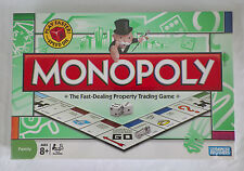 MONOPOLY FAST DEALING PROPERTY GAME PLAY FASTER W SPEED DIE FACTORY SEALED-NEW