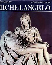 MICHELANGELO (The colour library of art) 53 Plates in Full Color