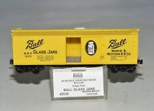N Scale Micro-Trains 42030 MWR 1020 Ball Glass Jars 40' Single Door Wood Boxcar