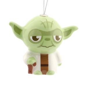 Yoda Ornament Authentic Star Wars Hallmark Holiday Keepsake Decoupage Christmas