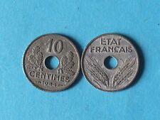 piece de monnaie 10 centimes 1944 petit module