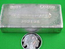 50  OZ  Fine  Silver  -  Loaf