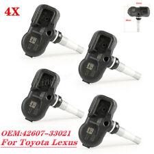 4PCS 42607-33021 For Scion Toyota Lexus TIRE PRESSURE SENSOR TPMS PMV-107J
