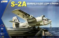 Kinetic 1/48 K-48039 US Navy GRUMMAN S-2A (S2F-1/CS2F-1) Tracker