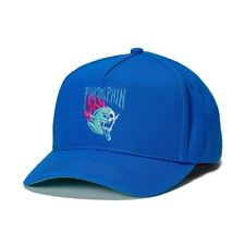 +++ NEW PINK DOLPHIN SKELETON GHOST BLUE SNAPBACK HAT CAP +++