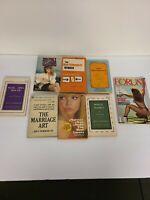 Lot Of 8 Vintage Sleaze GGA Paperback Books Pulp Erotica Rare (102)