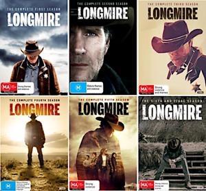 LONGMIRE : The Complete Series Season 1 2 3 4 5 6 : NEW DVD