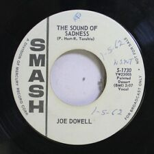 50'S & 60'S Promo 45 Joe Dowell - The Sound Of Sadness / The Thorn On The Rose O