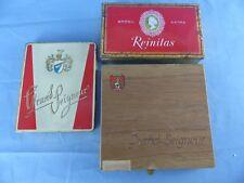 Lot de 3 boites cigares GRAND SEIGNEUR feingold REINITAS WW2