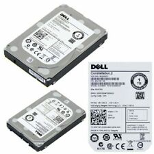 "Dell 1TB 7.2K RPM SATA 6G 2.5"" HDD 0WF12F Hard Disk Drive Server - No Caddy"