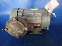 Used 3-Phase AC Induction Motor 3/4 HP Dayton 3N369H