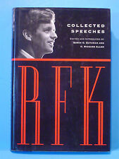 Rare 1st Print 1st Edition, RFK Illustrated Collected Speeches Robert F Kennedy