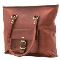 Leather Handbag Tote Bag Women Purse Work Travel Shopping Shoulder Bags Large