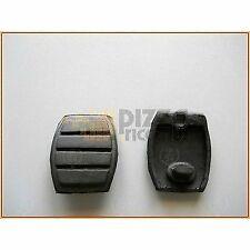*FRP* COPPIA GOMMINI PEDALE FRENO FRIZIONE RENAULT SUPER 5 9 11 torque clutch br