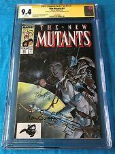 New Mutants #63 - Marvel - CGC SS 9.4 NM  - Signed by L Simonson, Bo Hampton