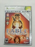 Original xbox fable the lost chapters Factory Sealed!! Free Fast Shipping