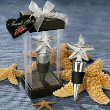 Fashioncraft - Starfish Bottle Stopper Favor beach theme wedding favors.