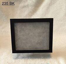 "#235 (16) Riker Mount Display Case Shadow Box Frame Tray  6"" X 5"" X 1 1/4"""