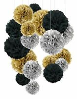 Tissue Paper Pom Poms, Recosis Paper Flower Ball for Birthday Party Wedding Baby