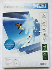 Premium Inkjet Photo Paper A4 210x297mm 50 sheets 280 gsm New Sealed Pack GERMAN