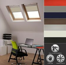 BLACKOUT SKYLIGHT ROLLER BLINDS FOR VELUX ROOF WINDOWS EVERY SIZE AND COLOUR