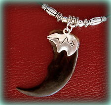 BEAR CLAW (replica) NECKLACE Jewelry Pendant - Wild Animal CLAW Indian style