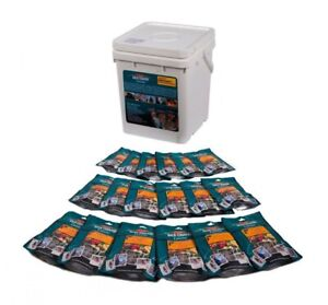 BACK COUNTRY CUISINE EMERGENCY BUCKET 12 or 18 x LONG LIFE FREEZE DRIED MEALS