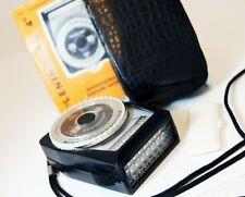 LENINGRAD 4 Russian Camera LIGHT / EXPOSURE METER made by LOMO Case Instructions